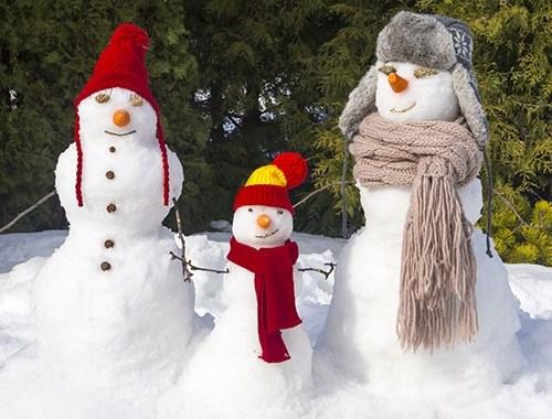 activités d'hiver