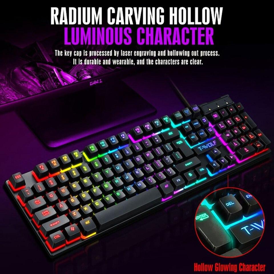 clavier rétro éclairé site gamers