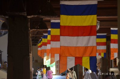Intérieur du temple