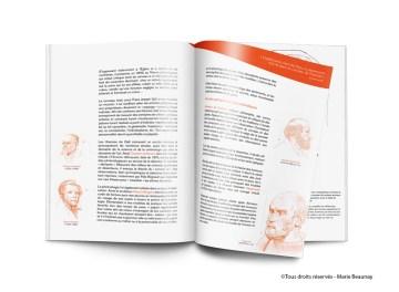 Mise en page et illustration d'un mémoire sur la neuroanatomie réalisé pour un projet de fin d'étude