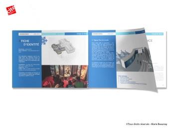 Réalisation et mise en page de dossiers pour la Cité des Sciences et de l'Industrie