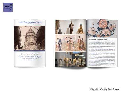 Réalisation de dossiers de mécénat pour le musée des Arts Asiatiques Guimet