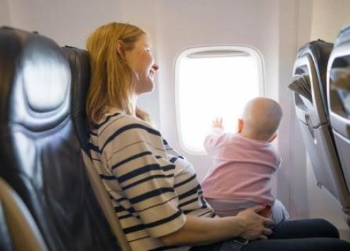 Air travel for nursing mothers isn't always easy, but planning ahead can make it less challenging for mom and baby.