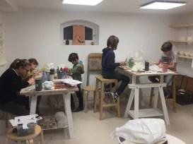 stage de poterie enfants
