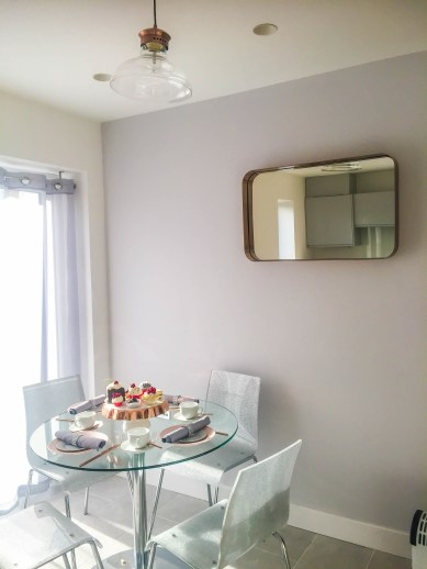 Springfields Show Homes Dining designed by Marie Charnley Interiors