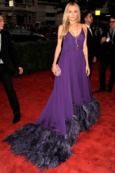 Diane Kruger at the Met Ball 2012 - Costume Institute Gala - Marie Claire