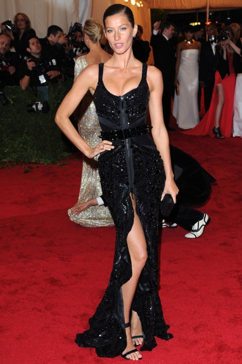 Gisele Bundchen at the Met Ball 2012 - Costume Institute Gala - Marie Claire