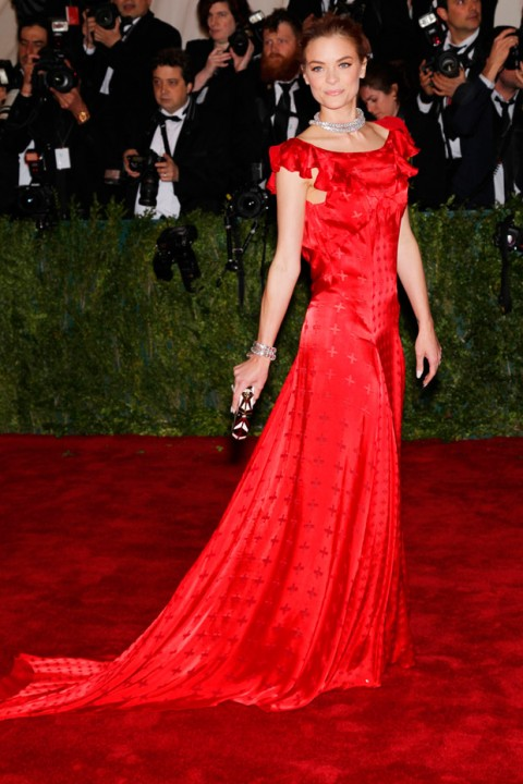 Jamie King at the Met Ball 2012 - Costume Institute Gala - Marie Claire