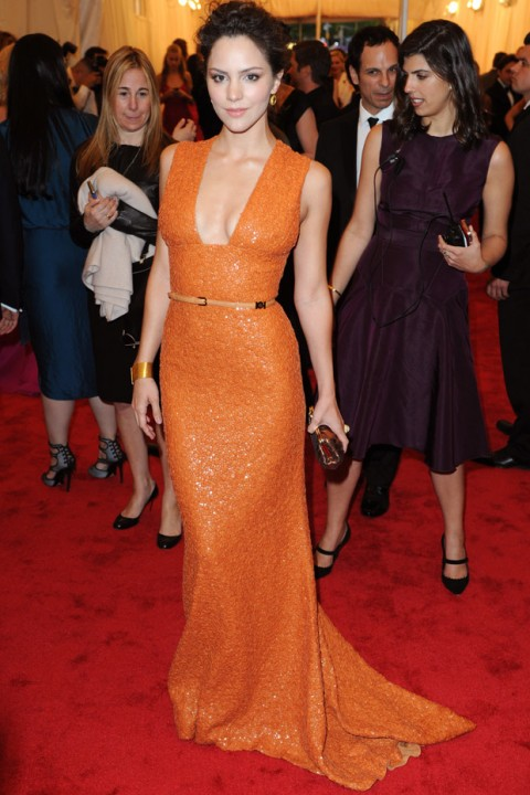Katharine Mcphee at the Met Ball 2012 - Costume Institute Gala - Marie Claire