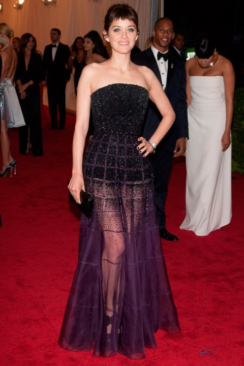 Marion Cortillard at the Met Ball 2012 - Costume Institute Gala - Marie Claire