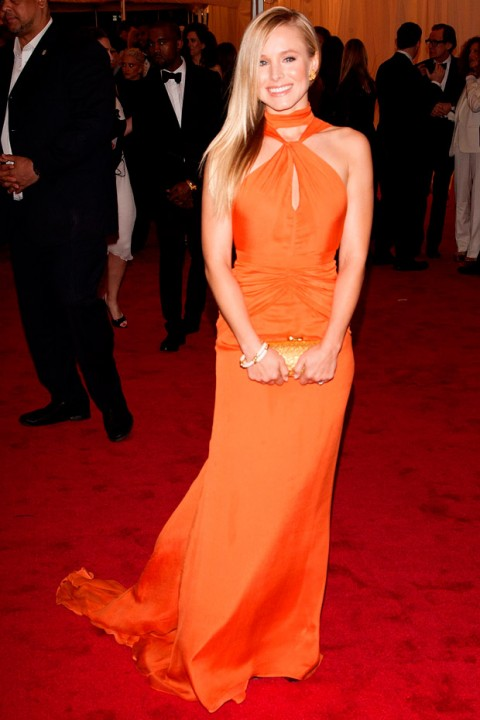 Kristen Bell at the Met Ball 2012 - Costume Institute Gala