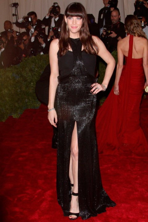 Liv Tyler at the Met Ball 2012