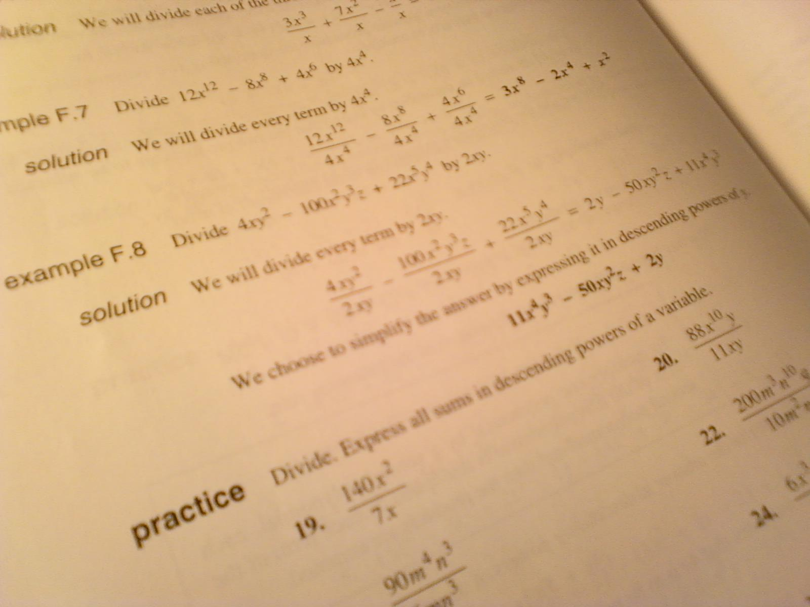 High School Math Equations And Answers