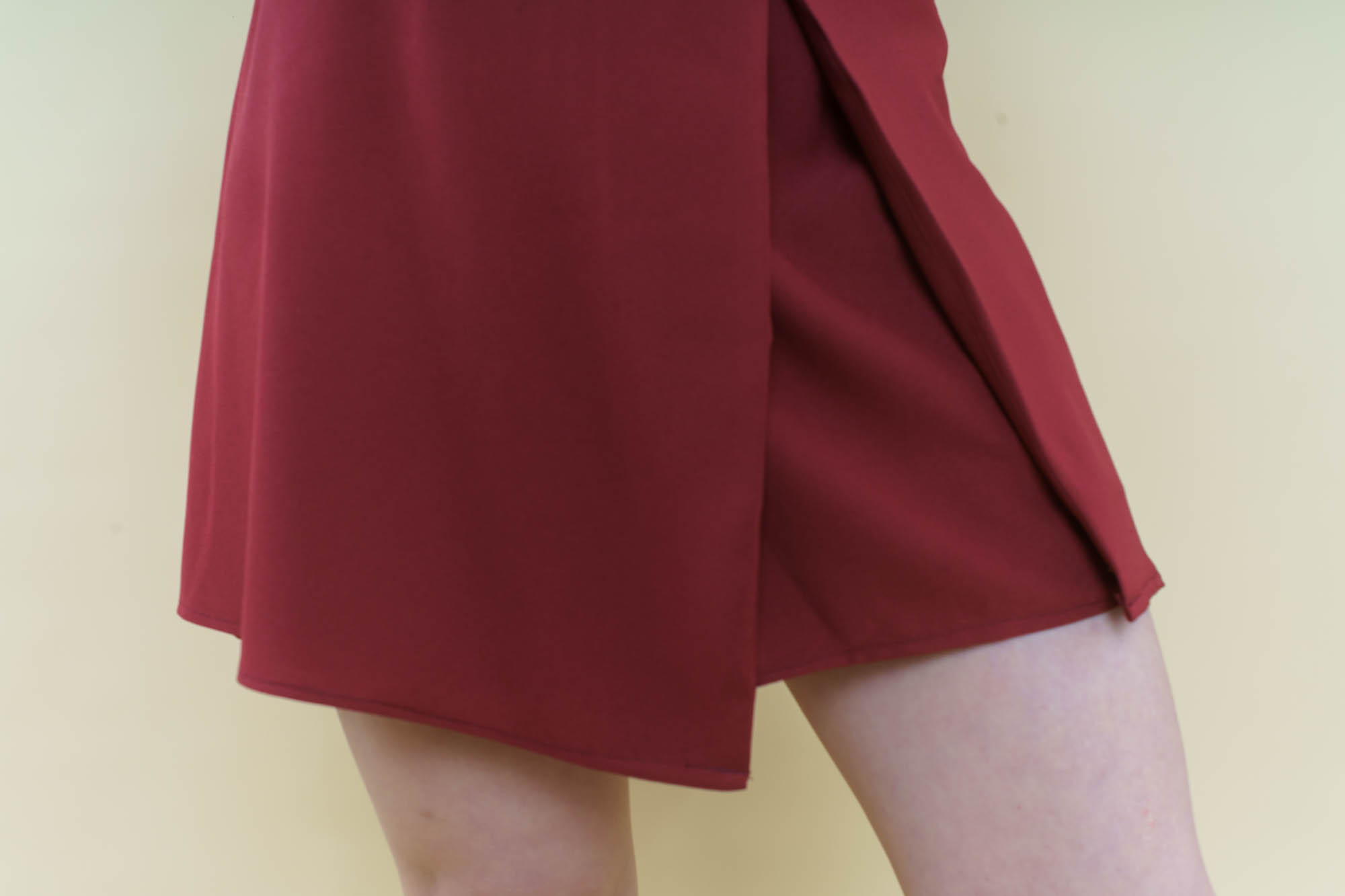 skirt front silhouette