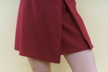 skirt front silhouette