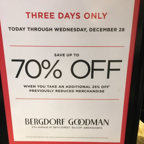 boxing day 70% off