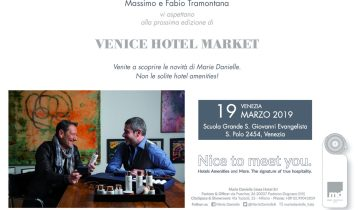 Save the date: Venice Hotel Market 2019