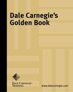 Image of Dale Carnegie's Golden Book on mariedeveaux.com