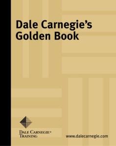 Image of Dale Carnegie's Golden Book on mariedeveaux.com