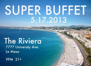 super buffet at rivera flyer
