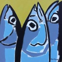 50x50cm - Picasso chez les thons