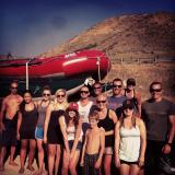 River Rafting with the Bridal Party