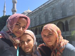 Blue Mosque with Sanja