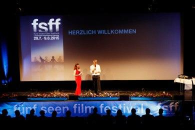 Mit Festivalleiter Matthias Helwig