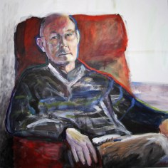 2011 Mijn Vader - Acryl op katoen 70 x70 cm