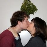 41. Zoenen onder een mistletoe