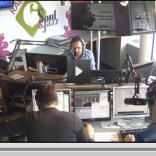 Geïnterviewd worden op de radio