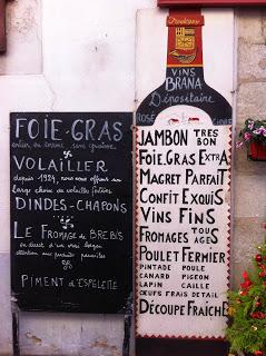 Traditional store in rue Gambetta - St Jean de Luz, France