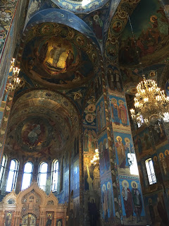 Inside the Church of the Savior on Spilled Blood