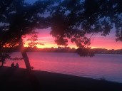 Sunset in Hains Point