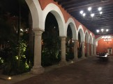 Cartagena - patio in Hotel Sofitel