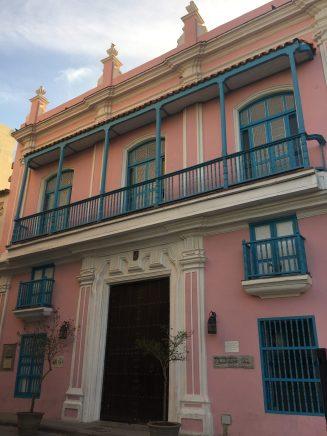 The house of painter Carmen Montilla