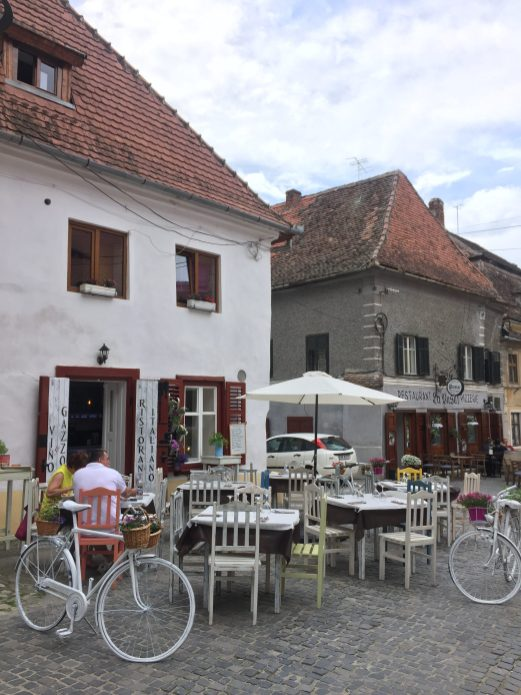 A bistro in the Lower town
