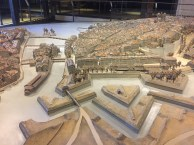 Geneva - miniature of the city in medieval times at Maison Tavel