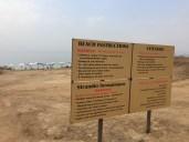 Beach instuctions