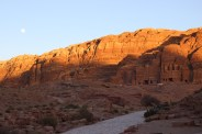 Sunset over the Royal Tombs