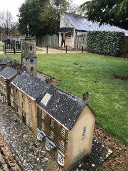 Blenheim Palace, Woodstock village miniature
