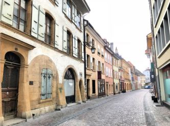 Strolling around the streets of Yverdon