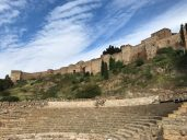 The Roman Theater and the Alcazaba