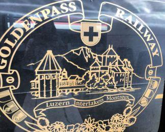 Boarding the Goldenpass Railway