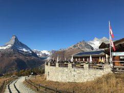 The view from Sunnegga