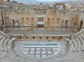 The Jerash Amphitheatre