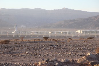 The Israeli border
