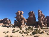 Surreal rock formations