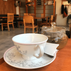 A cup of tea at Café Épico