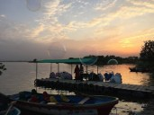 Sunset at lake Rawal 2